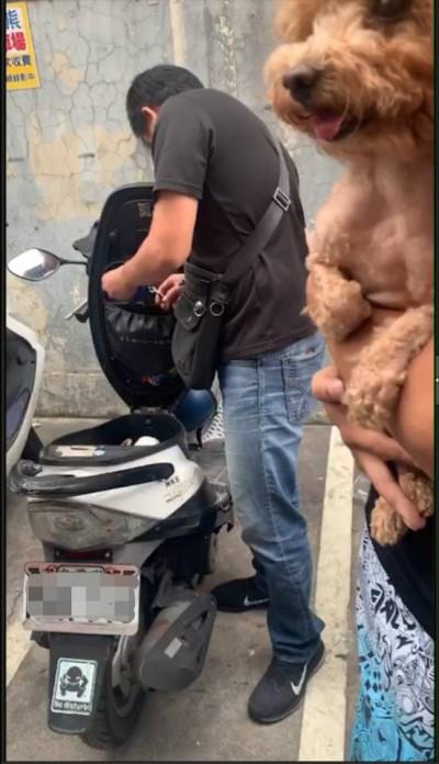 不捨愛犬餓肚 失業男專割攤車帆布行竊