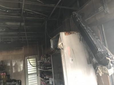 阿嬤出門忘關火 2名2歲孫遇火警被幸運救出