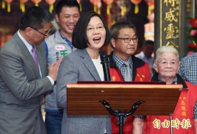 韓國瑜鬆口選總統 蔡英文:他現在最重要的是議會答詢