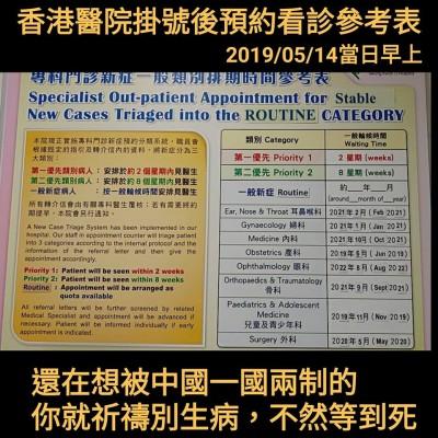 還想兩岸統一? 香港醫院慘況「祈禱別生病,不然等到死」