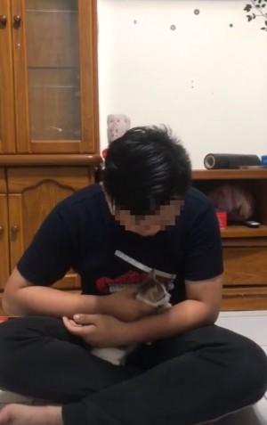 空中狂甩幼貓遭撻伐 高職生今道歉:會將貓送養