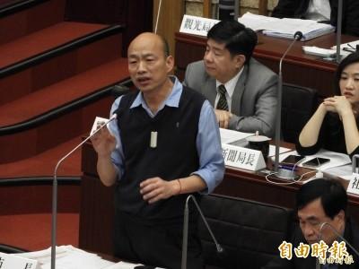 韓國瑜對戰郭董 傳國民黨內部民調兩人差距只有8~9%