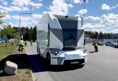 全球首例! 瑞典無人駕駛電動貨車 獲准上路