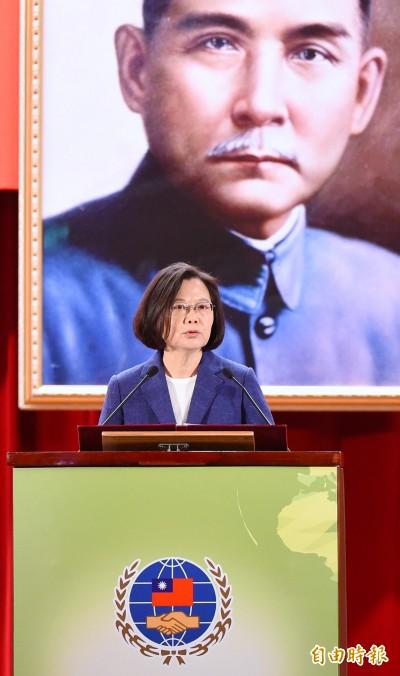 台灣經濟穩定度世界第一  蔡總統請全球僑委放心
