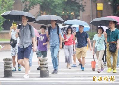 梅雨鋒面下週一報到 北台灣將轉涼