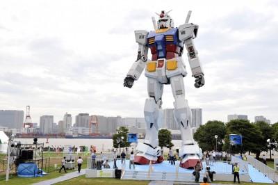 飛向宇宙! 日本東奧造勢要送「鋼彈」上太空