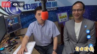 打臉韓國瑜 朱立倫:總統兼閣揆「憲法是不准的」