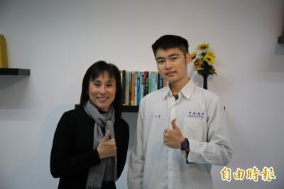 休學一年戰勝血癌! 中和高中王子睿錄取中興電機系