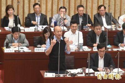 陳致中質詢韓國瑜 韓自稱「總機」被笑翻