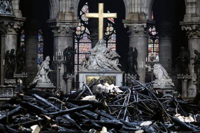 巴黎聖母院災後重建 總主教:大部分捐款沒收到