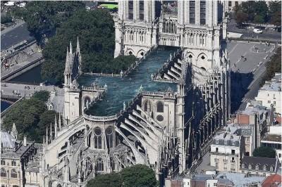 現代還古典?巴黎聖母院重建計畫 想法多元含空中泳池