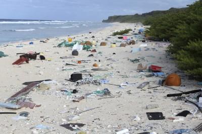 嚇人!澳洲偏遠「天堂島嶼」 海灘佈滿4.14億個塑膠廢棄物