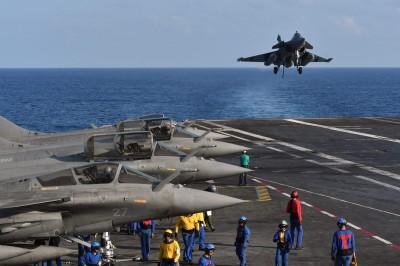 維護印太地區 美澳日法4國海軍首度聯合軍演