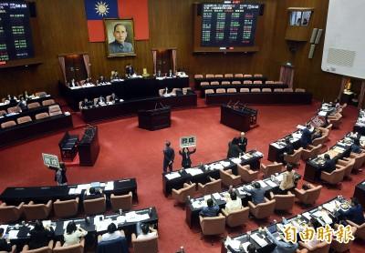 立法院會今表決同婚專法條文 朝野立委激辯