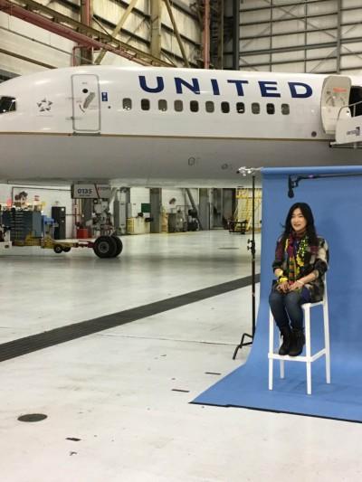 台灣之光!她為美國聯航設計的飛機 將飛越美洲大陸