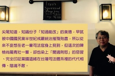 曲棍球案彈劾引反彈 陳師孟嘆:黨國遺緒陰魂不散