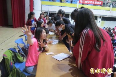 國中會考》硬仗ing 居仁國中鼓勵學生「臨時抱佛腳」