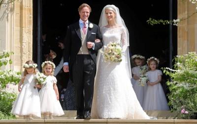 英國王室又有喜事! 堂侄女結婚 女王到場獻上祝福