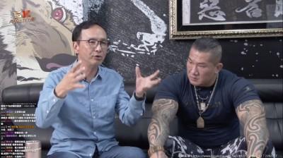 館長嗆藍親中 朱立倫:我告訴對岸不要幫民進黨助選