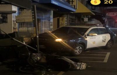 警察累了嗎?彰化警7天內連撞2輛警車