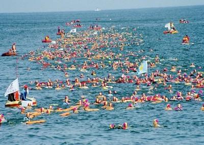 基隆外木山海上長泳26日登場 1499人參賽