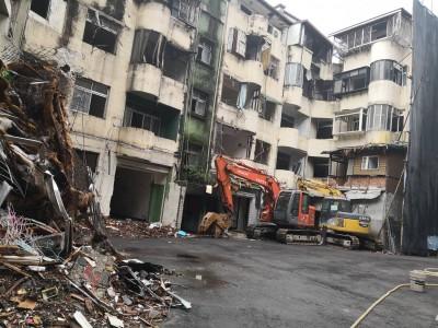 中和12棟危老建物拆除 將改建22層大樓