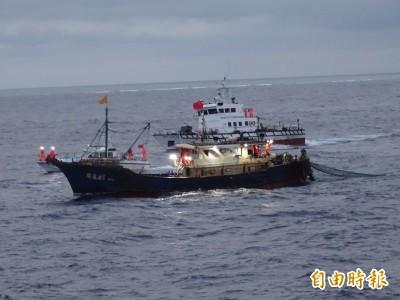 中國漁船越界濫捕 遭重罰340萬強制驅離