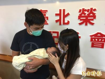 北榮出生25天男嬰肝移植  創台灣年齡最小紀錄