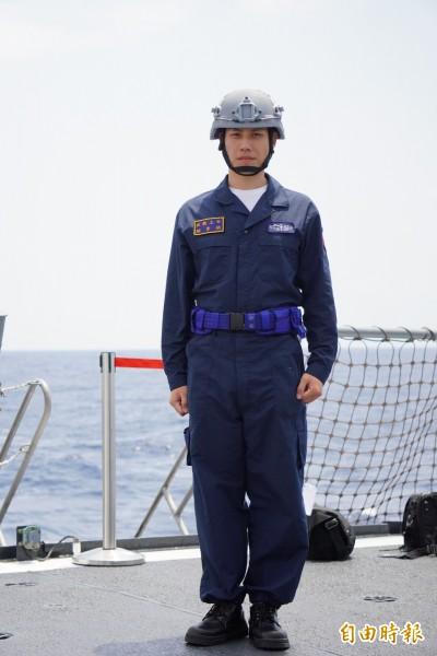漢光前哨戰》主打防火 海軍新連身操作服亮相