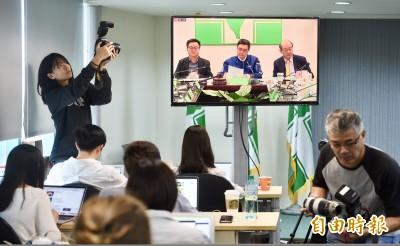 民進黨中執會無結論散會 總統初選日程事宜下周三再戰