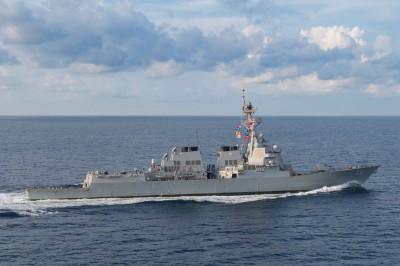 一個月一次!美艦今年第5度航經台灣海峽