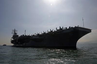 美航母「雷根號」重新在印太巡弋 專家:對漢光軍演很重要