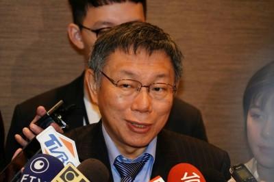 日媒關注選總統 柯P未鬆口參選、重申親美日友中