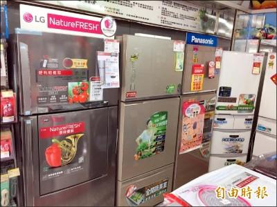 貨物稅減徵!2年內買電冰箱、冷暖氣機、除濕機 可省2000元
