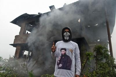 印度政府軍擊斃喀什米爾武裝組織首領 引數百人抗議