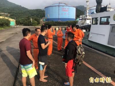 驚險!玩SUP划不回象鼻岩 10男女被洋流帶出外海