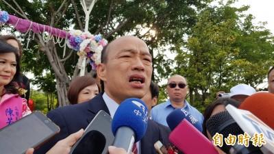 黃捷喊話「先辭市長再選總統」 韓國瑜閃避:總質詢再答覆