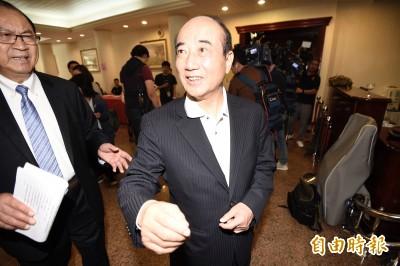 韓國瑜展開總統造勢 王金平:無壓力