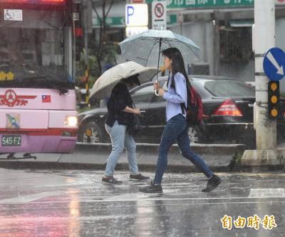 兩波梅雨鋒面將接力報到 週一起留意局部大雨
