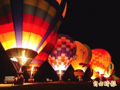 桃園石門水庫熱氣球嘉年華6/15升空 造型熱氣球賣萌