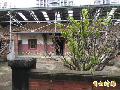 公告歷史建築12年 竹北東平里問禮堂仍未修復…