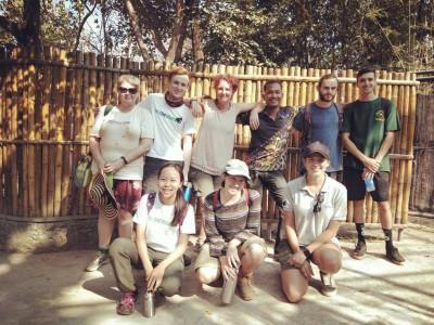 台灣青年赴柬埔寨  參與當地保育馬來熊的行動
