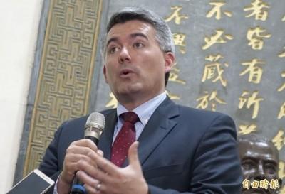 台北法案提案人 挺台參議員賈德納將旋風訪台