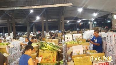 端午休市不同調 北農祭獎勵 蔬菜公會:搞對立