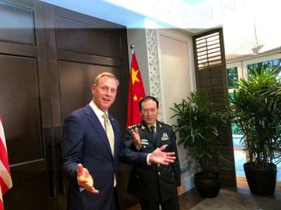 南海造島實施軍國主義擴張 美國防部長:中國太超過了