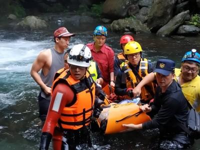 宜蘭縣金岳瀑布傳溺水 34歲蘇花改工人送醫不治