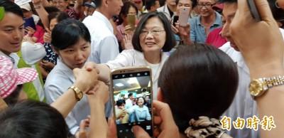 年金改革PK韓、郭 蔡英文:民意最後是支持我的