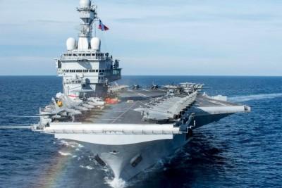 戴高樂航艦停靠新加坡 法國宣示加入南海「自由航行」