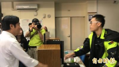 衝刺初選向員警致意 賴清德:我有幫你們加薪