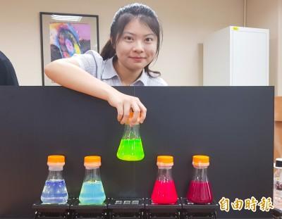 全球首創!清大團隊噴霧法製作光電材料 放光效率可達百分百